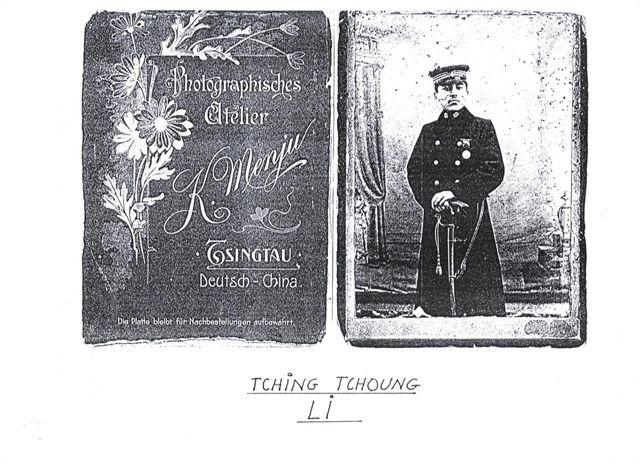 Tching Tchoung LI, mit Einband