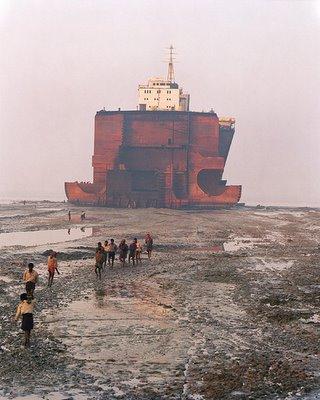 BLDGBLOG -- dismantling old ships