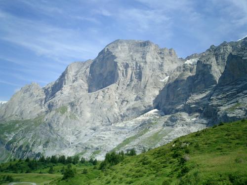 Blick von der Grossen Scheidegg auf das Wellhorn