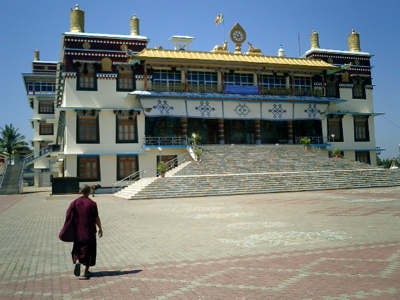 Tibetan Temple from the out