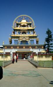 Tibetan temples in Bylakuppe