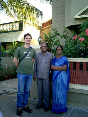 Harsha's uncle and aunt