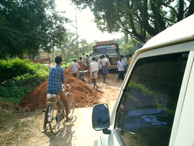 Unexpected roadblocks