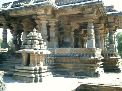 A picture from the main temple