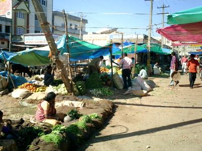 Market in Hassan