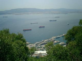 Across the bay towards Spain