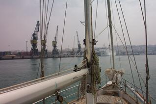 Approaching Tanger