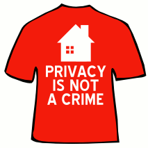 Privacy is not a crime T-Shirt