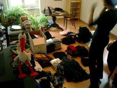 Was nicht in die Kleidersammlung kommt, will neu geordnet werden