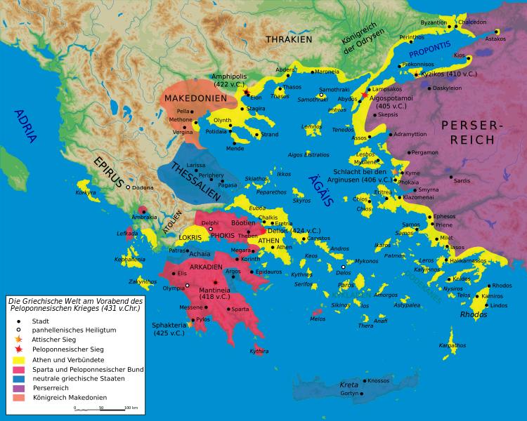 Am Vorabend des Peloponnesischen Krieges, 431 v. Chr.