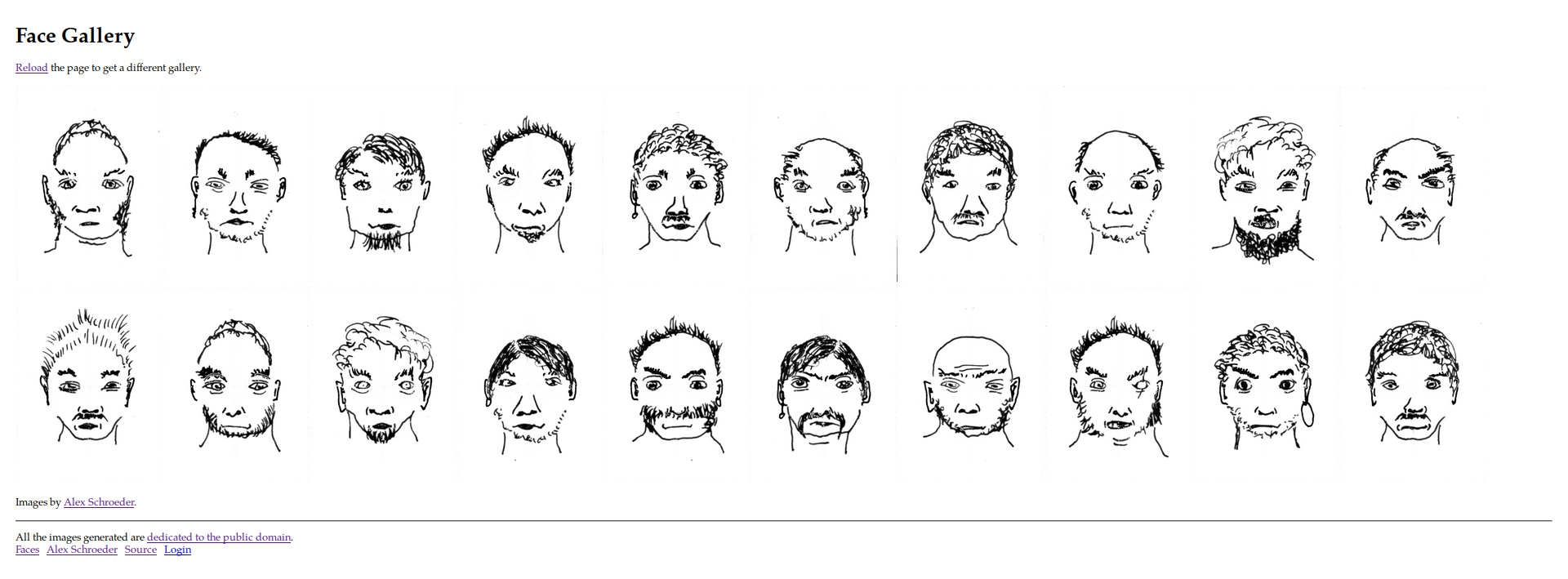Generated Faces