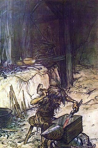 Mime by Arthur Rackham